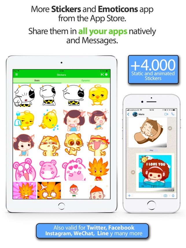 ‎Stickers Packs für WhatsApp! Screenshot