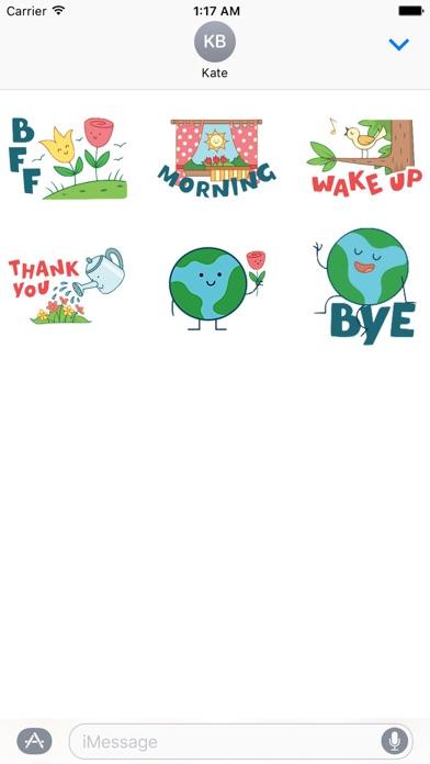 Happy Earth Day Sticker screenshot 2