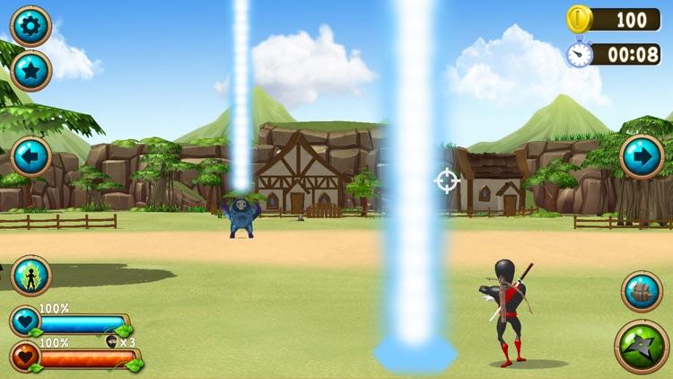 NInja Vs. Monsters screenshot-0