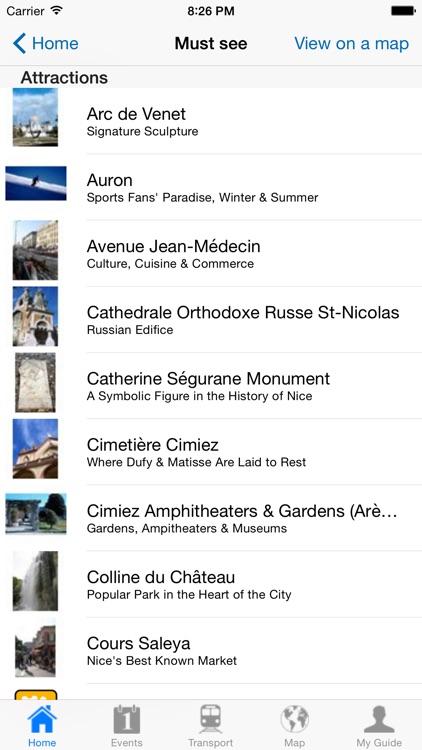 Nice Travel Guide Offline screenshot-3