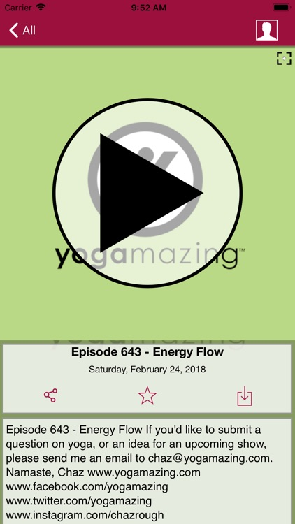 YOGAmazing - Yoga Video App