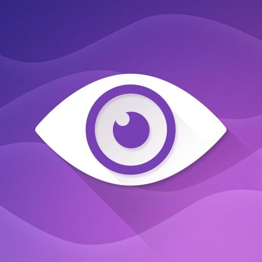Purple Ocean Psychic Readings application logo