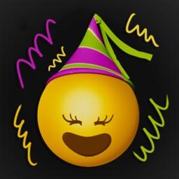 Happy New Year Emoji Stickers