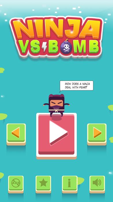 Ninja VS Bomb screenshot one