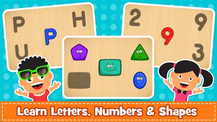 Kids Puzzle & Toddlers Games screenshot-4