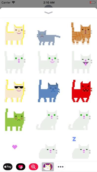 Pixel Cat Stickers Screenshot 1