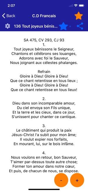 chant desperance francais et creole