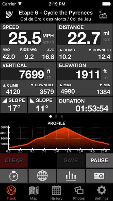 Screenshot for Bike Tracks in Lebanon App Store