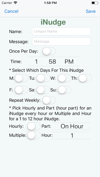 iNudge screenshot #7