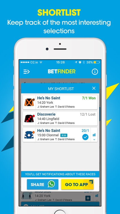 BetFinder - Horse Racing Tips screenshot-3