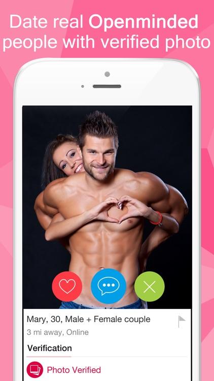 3Fun: Threesome & Swingers App