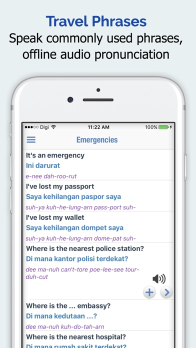 Indonesian Dictionary + iPhone