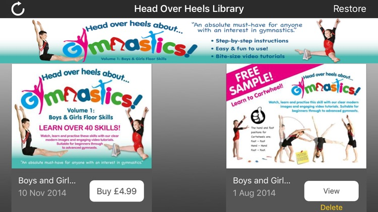 Head Over Heels for Education