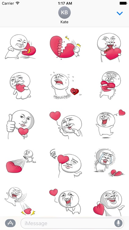 Love Just For You Sticker
