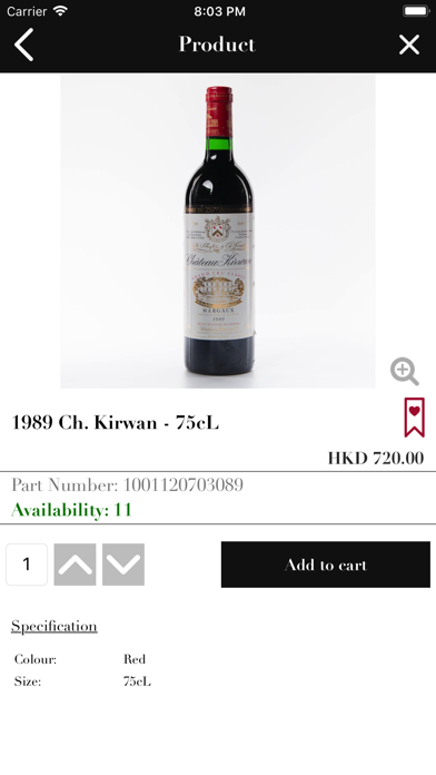 Victoria Wine Cellar HK screenshot four