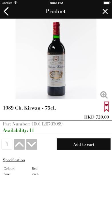 Victoria Wine Cellar HK screenshot four