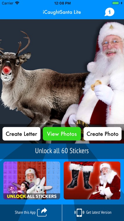 iCaughtSanta Lite screenshot-0