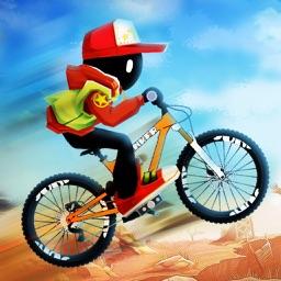 火柴人骑士-摩托车骑手游戏
