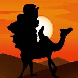 Silk Road Camel Stickers
