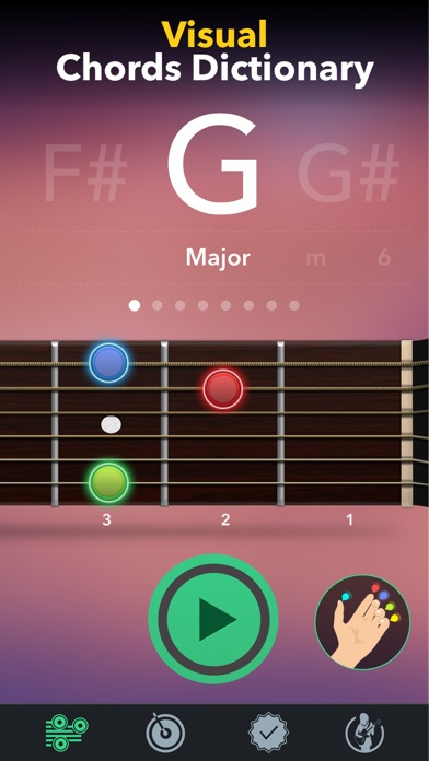 Guitar Tuner Easy tune chords for Windows