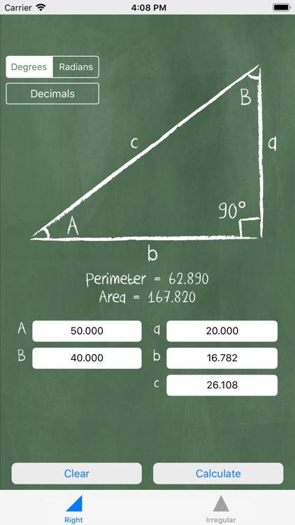 Triangle Solver - Trigonometry