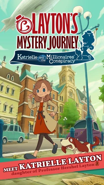 Layton's Mystery Journey screenshot-0