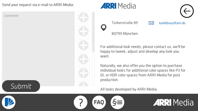 ARRI Look Library on the App Store
