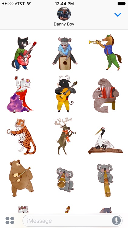 Jazzy Animal Musicians screenshot-0
