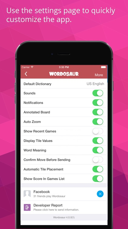 Wordosaur The Social Word Game