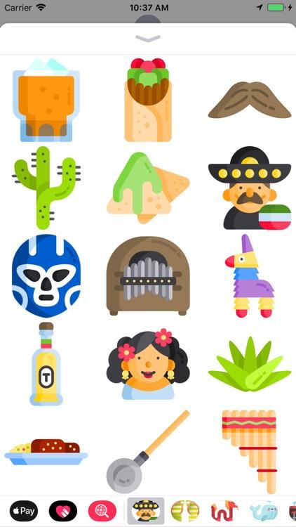 Viva México Stickers