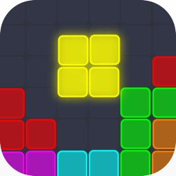 Neon Block Puzzle : Fill Board