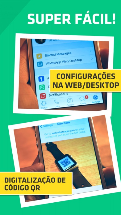 Screenshot for WatchUp - para WhatsApp in Brazil App Store