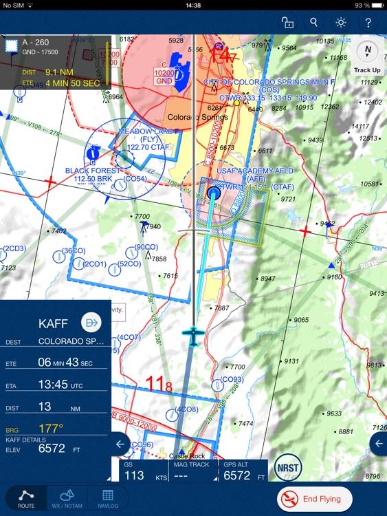 Jeppesen Mobile FliteDeck VFR screenshot-4