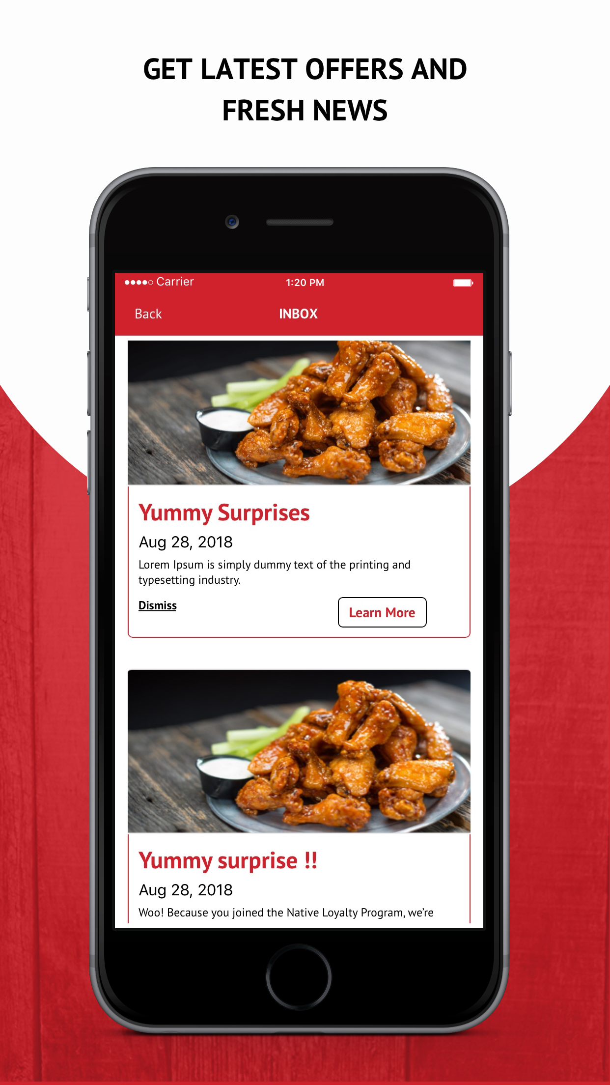 Native Grill and Wings Screenshot