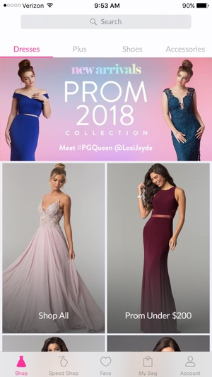 PromGirl Shop on the App Store