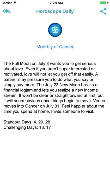 Horoscope 2018 - Daily screenshot-3