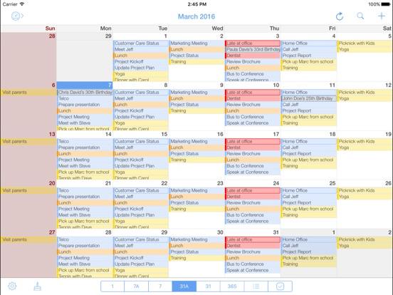 miCal - The iPhone Calendar Screenshots