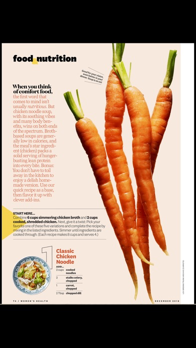 Women's Health Mag iPhone