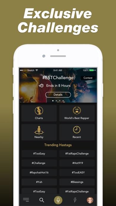 Rapchat — Rap Music Studio app image