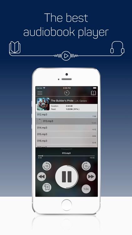 MP3 Audiobook Player Pro screenshot-0