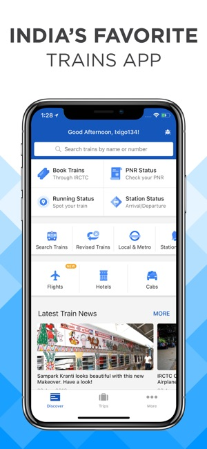 ixigo: IRCTC Train PNR Status on the App Store