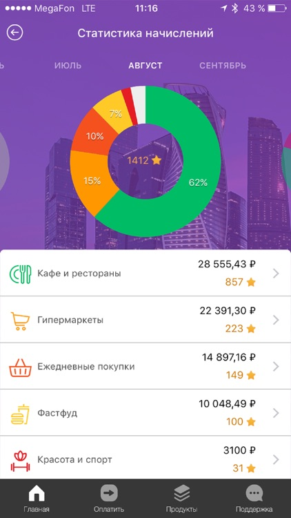 Touch Bank - онлайн банк 24/7 screenshot-4
