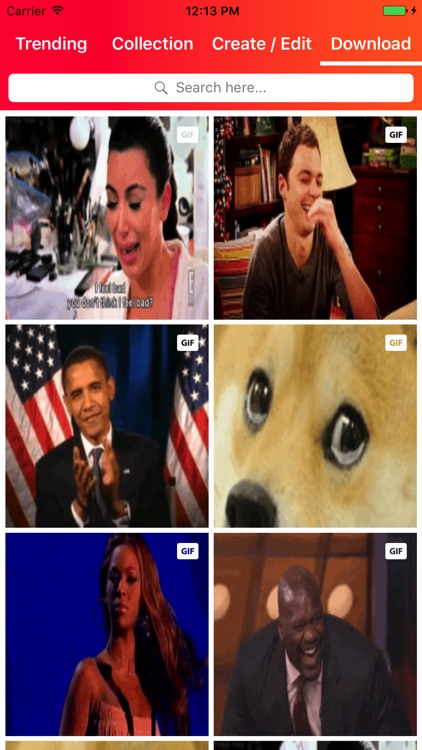 GIF Viewer - Gif Maker & Browse All GIFs & Memes screenshot-0
