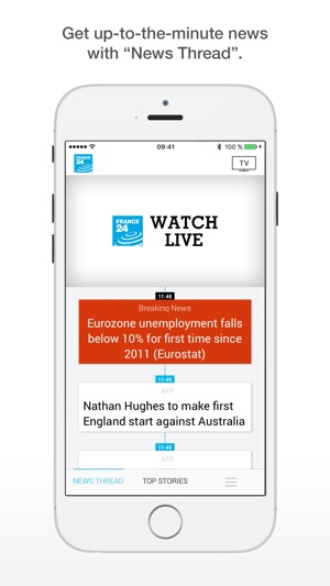 FRANCE 24 - International News on the App Store