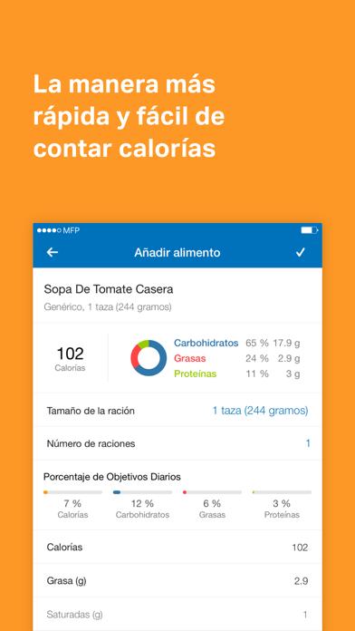 Screenshot for MyFitnessPal in Dominican Republic App Store