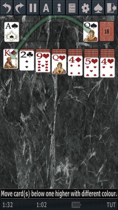 Solitaire 3D. screenshot1