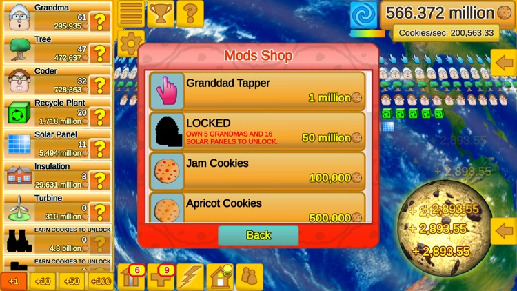 Cookie Clicker Save The World