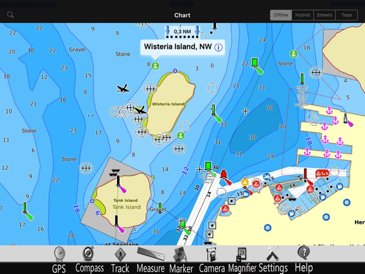 Lillinonah lake GPS Charts Pro screenshot-2