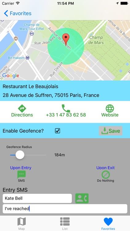 Locator - Find Places screenshot-4