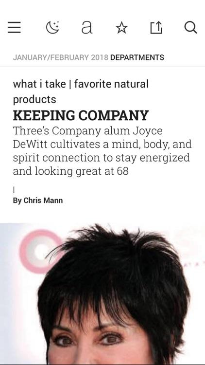 Amazing Wellness Magazine screenshot-3
